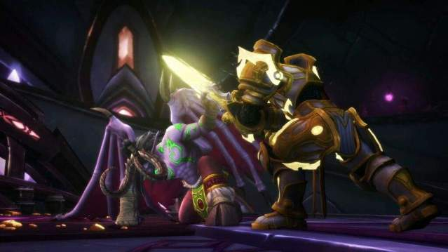 Illidan vs Turalyon